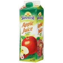 ¥3.7 Sunfresh 苹果汁饮料 1L 新加坡进口 折3.7