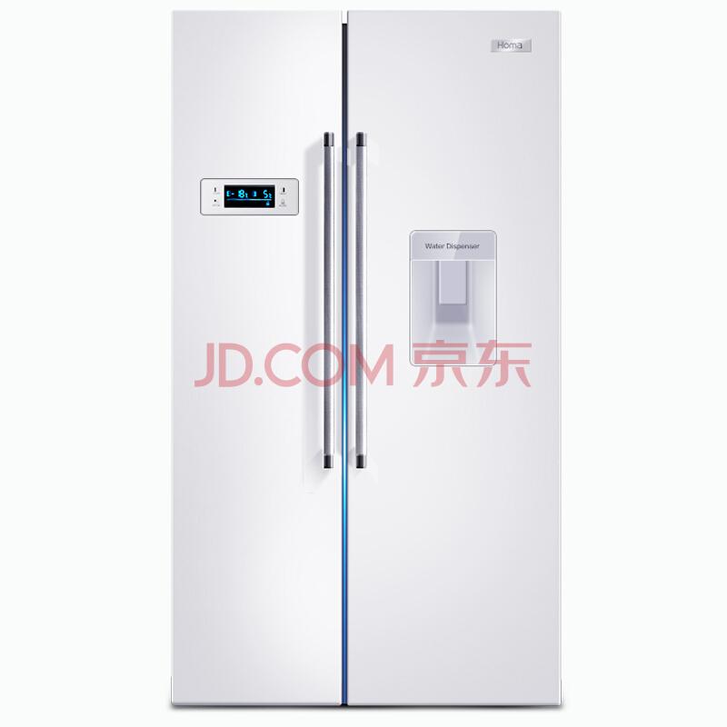 限青海: Homa 奥马 BCD-512WK 512升 风冷无霜 对开门冰箱¥2099