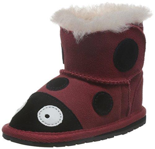 EMU Australia All Littles 婴童 Ladybrid Walker 宝宝鞋 B10317RED (亚马逊进口直采,澳大利亚品牌) 287.52元