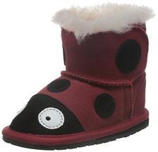 EMU Australia All Littles 婴童 Ladybrid Walker 宝宝鞋 B10317RED (亚马逊进口直采,澳