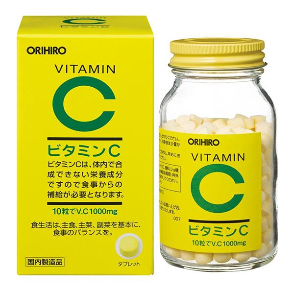 ORIHIRO立喜乐 天然维生素C补充剂 柠檬味 300粒