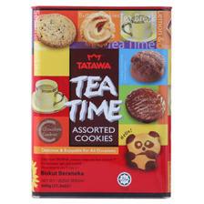 TATAWA Tea Time 什锦曲奇饼干 600g(可满减) 20元