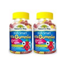 Kids Smart 佳思敏 儿童鱼油软糖 60粒*2瓶*2件 ¥186包邮(¥216-30)