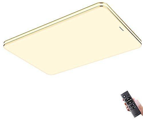 松下(Panasonic) 明畔 HHLAZ6078 LED吸顶灯 89W 金色 *2件 1598元(合799元/件)