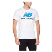 New Balance 男式 运动T恤 AMT73587 65元'