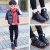 哈拉熊 儿童 加绒 运动鞋 59.