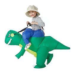 恐龙充气服装 儿童玩具服装 自动充气 68元包邮