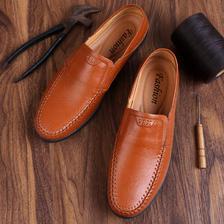 希公子 男士 真皮 豆豆鞋 68元包邮(有加绒款可选)