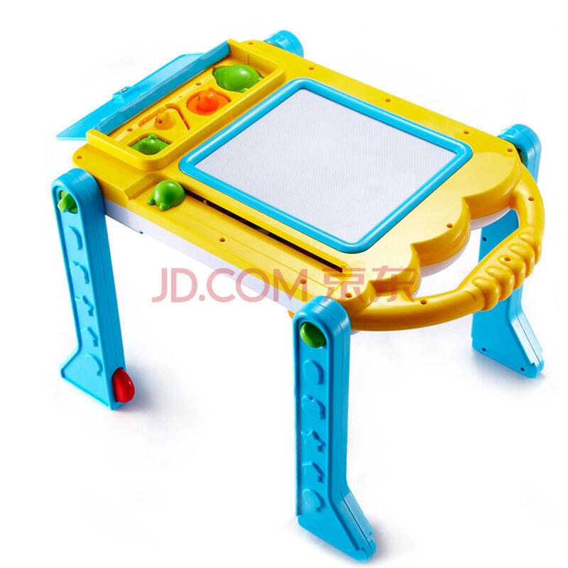 澳贝(AUBY) 益智玩具 电子多功能学习桌 婴幼儿童学步机拼插音乐写字板电子琴 149元,可399-200折合75