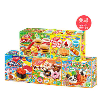 Kracie DIY食玩儿童糖果5盒装
