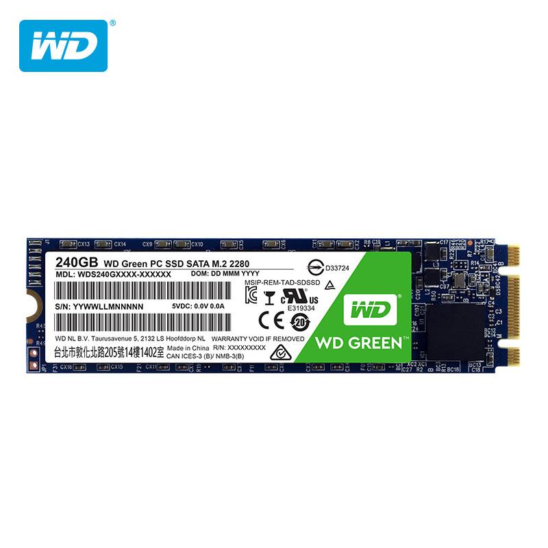 西部数据(WD) Green系列 固态硬盘 240GB(WDS240G1G0B) 309元