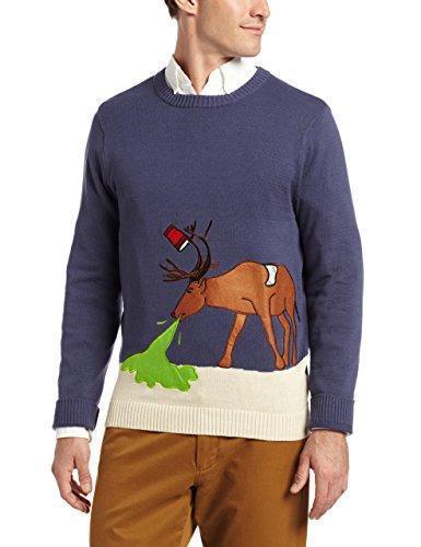 Alex Stevens Reindeer男士针织衫