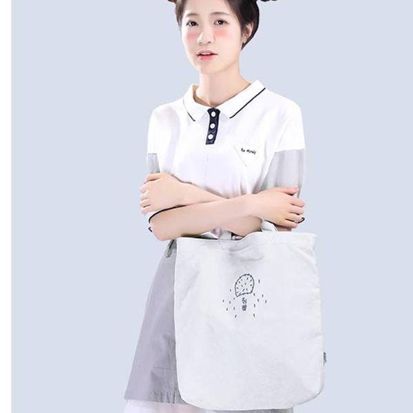 多用途!云朵工厂 斜挎手拎两用帆布袋 37.2元包邮(需用券)